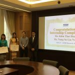 KDDI Internship Completion